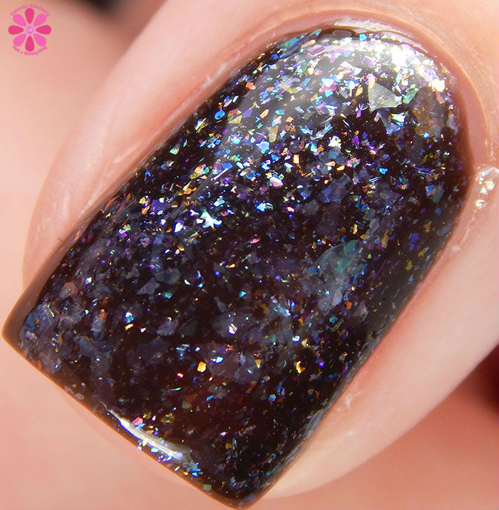 March 2016 A Box Indied CrowsToes Nail Color Mad As A March Hare Macro
