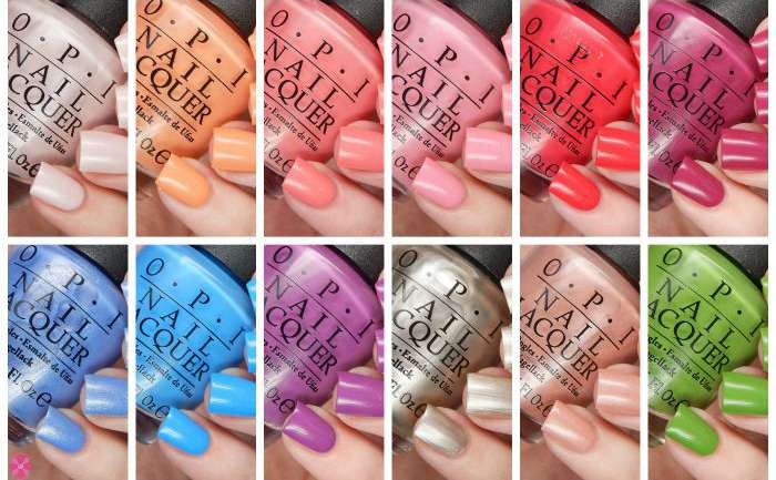 OPI Spring 2016 New Orleans Collection Review & Giveaway