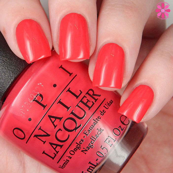 OPI Spring 2016 New Orleans Collection Review & Giveaway | She's A Bad Muffuletta Swatch
