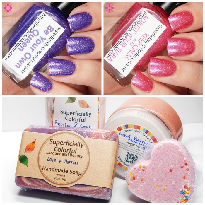 Superficially Colorful Treat Yourself Set