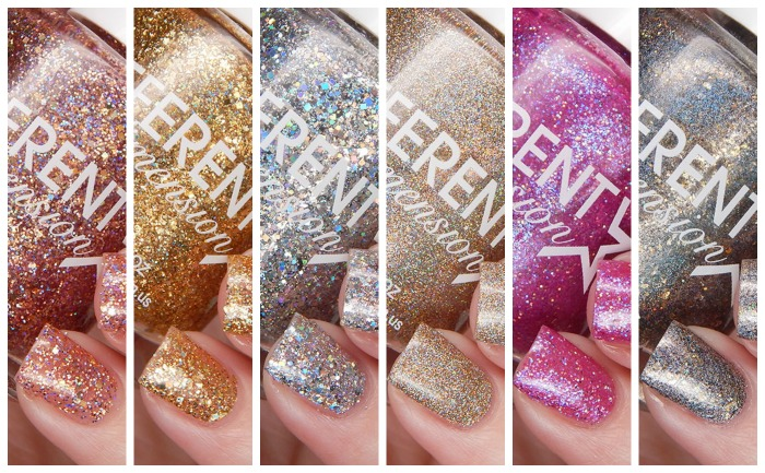 DIFFERENT dimension Let Them Eat Glitter Collection