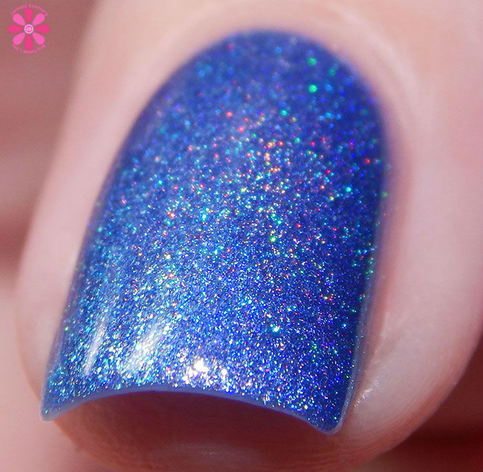 Darling Diva Polish April 2016 A Box Indied There's No Crying In Baseball Flash