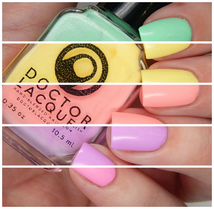 Doctor Lacquer Exotic Collection Split Image