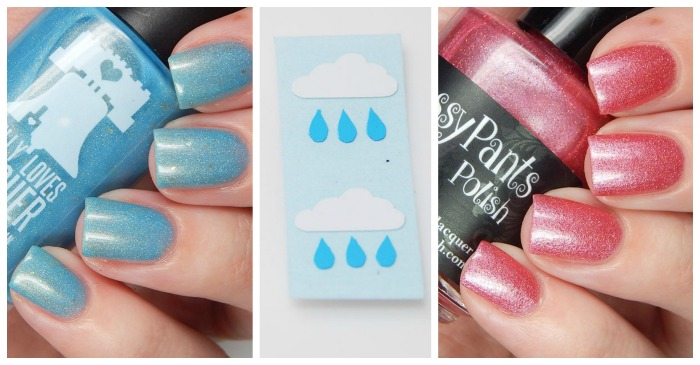 April Showers/May Flowers Duo with Sassy Pants Polish & Philly Loves Lacquer