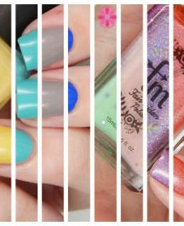 Fair Maiden POlish Spring 2016 Split Image banner