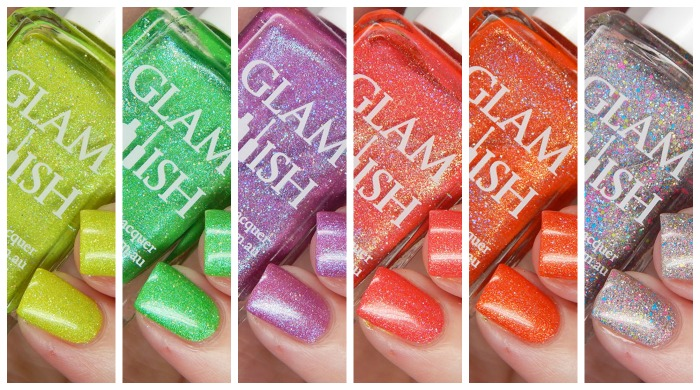 Glam Polish Truly Outrageous Partial Collection