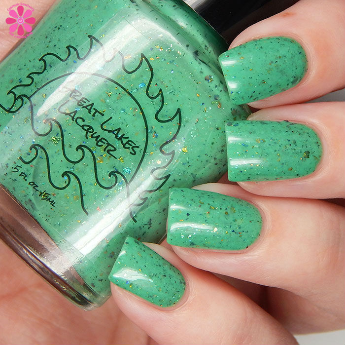 Great Lakes Lacquer April 2016 A Box Indied If You Swatch It They Will Come