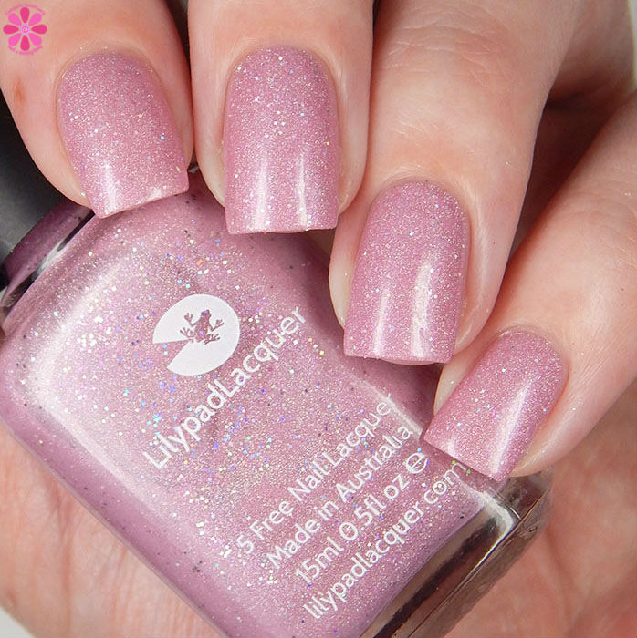 Lilypad Lacquer Raindrops On Roses Up