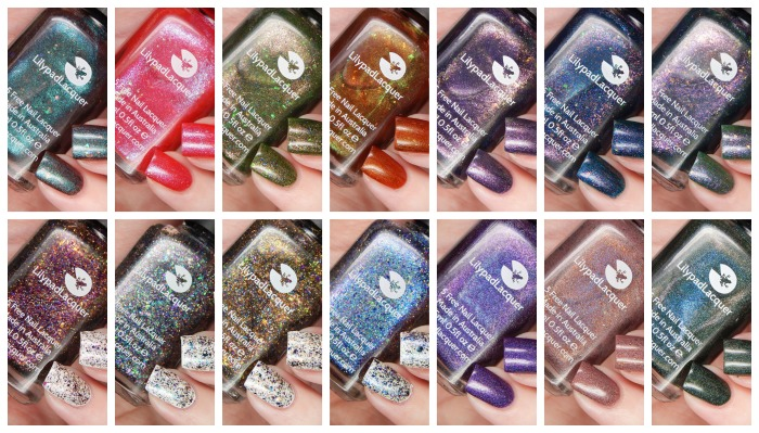 Lots Of Lilypad Lacquer Swatch Spam