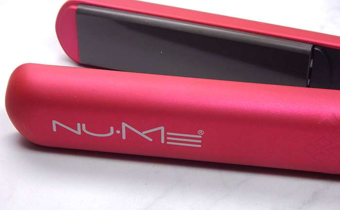 NUME Pink Silhouette Straightener