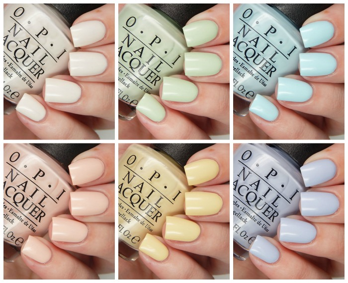 OPI Spring 2016 Soft Shades Collection Overview