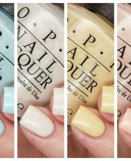 OPI Soft Shades 2016 Cover