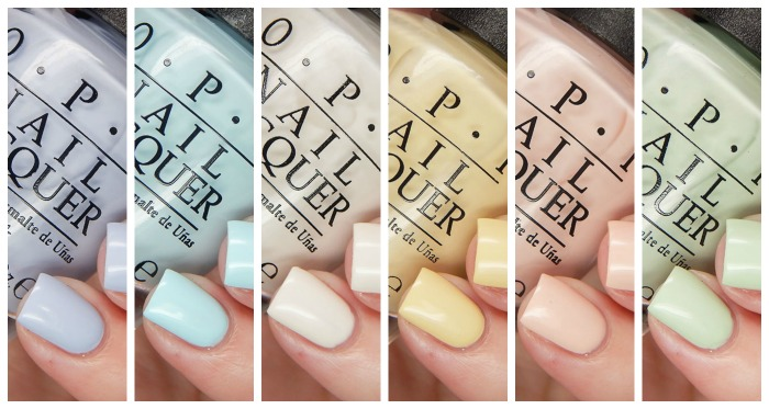 OPI Spring 2016 Soft Shades Collection