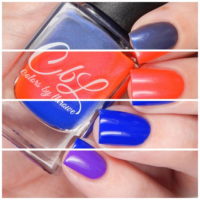 Colors By Llarowe Spring 2016 Jelly/Crelly/Shimmers