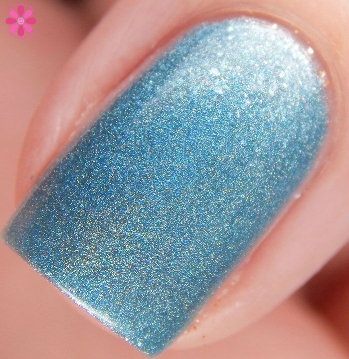 Too Fancy Lacquer Blue Satin Sashes Macro