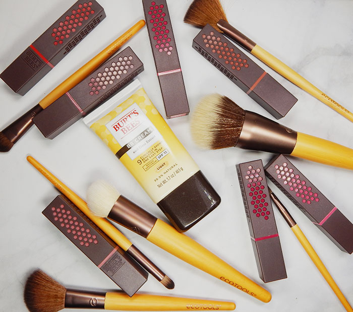 Natural Spring Beauty With Burt's Bees® & EcoTools®