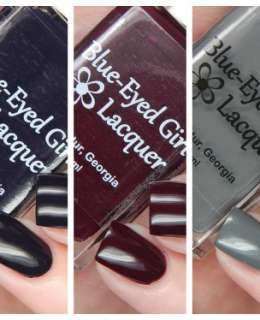 Blue Eyed Girl Lacquer Foux du Fafa Collection Cover
