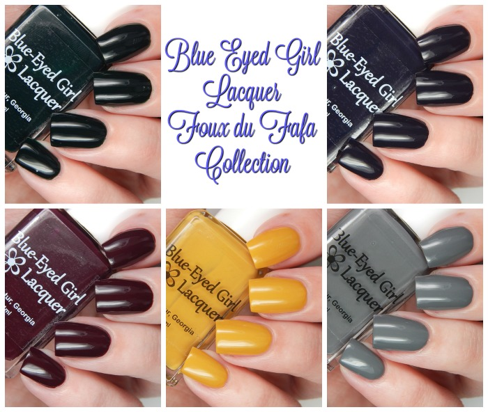 Blue Eyed Girl Lacquer Foux du Fafa Collection Main
