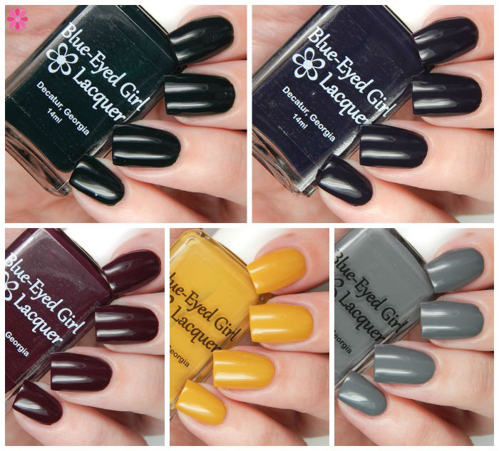 Blue Eyed Girl Lacquer Foux du Fafa Collection Overview