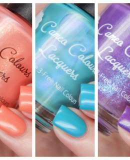 Cameo Colours Lacquers Spring 2016 Cover
