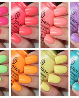 China Glaze Lite Brite Collection Cover