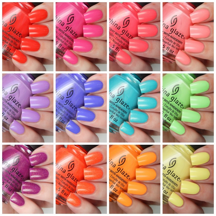 China Glaze Lite Brites Collection Overview