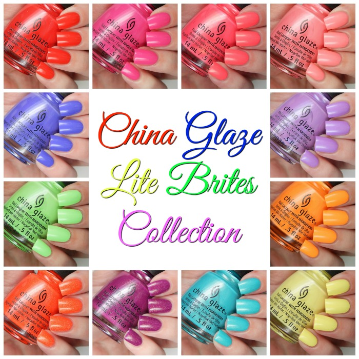 Best Nail Colours Summer 2016: China Glaze Summer 2016 Lite Brites Collection Swatches