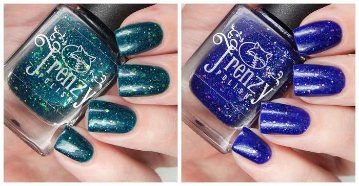 Frenzy Polish Exclusive Color4Nails Duo   I See You & Tree Of Voices