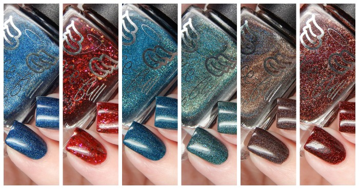 Grace-full Nail Polish Vampire Collection Revamped