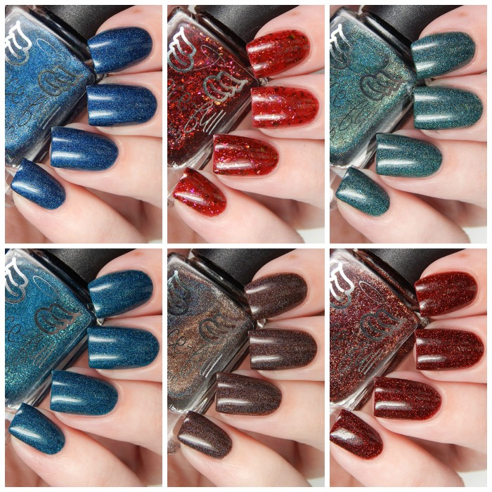 Gracefull Nail POlish Vampire Collection Main