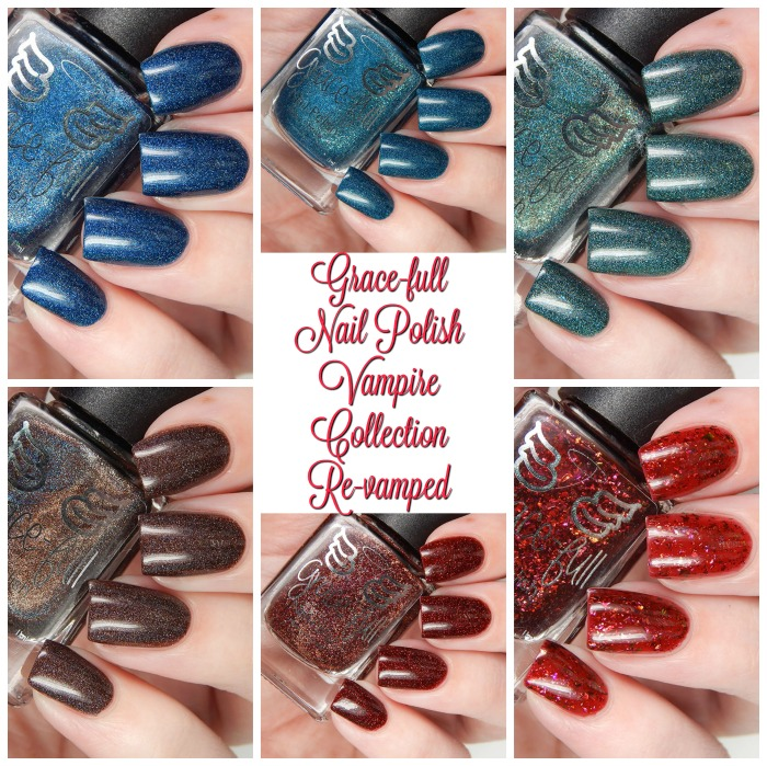 Gracefull Nail POlish Vampire Collection Named