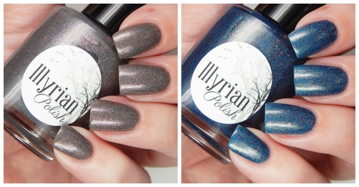 Illyrian Polish Exclusive Color4Nails Duo   Dove Jam & Peacock Sauce
