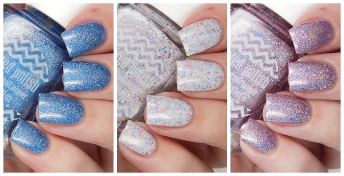 Painted Polish Mother's Day Trio