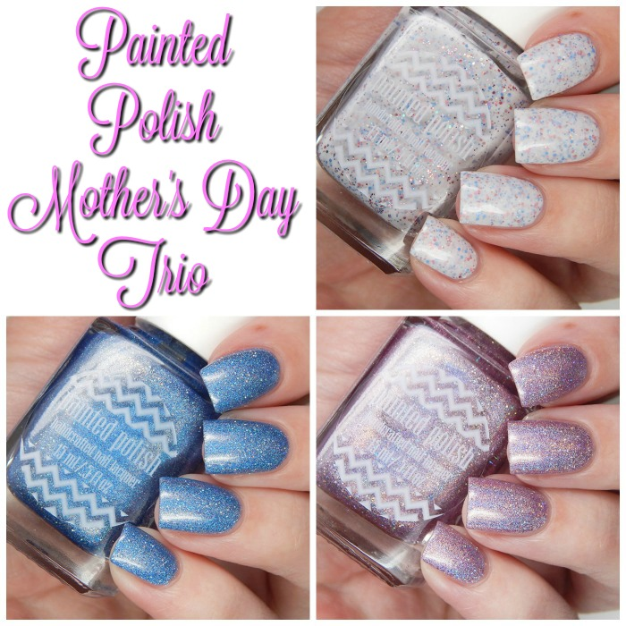 Painted Polish Mothers Day Trio