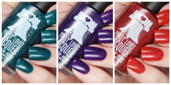 Philly Loves Lacquer Dirty 30 Birthday Trio