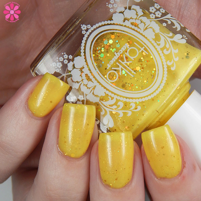 A Box Indied June 2016 Takko Lacquer The Yellow Ribbon Up