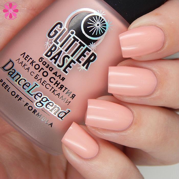Dance Legend Glitter Base in Pink