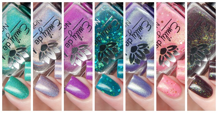 Emily de Molly May 2016 Releases