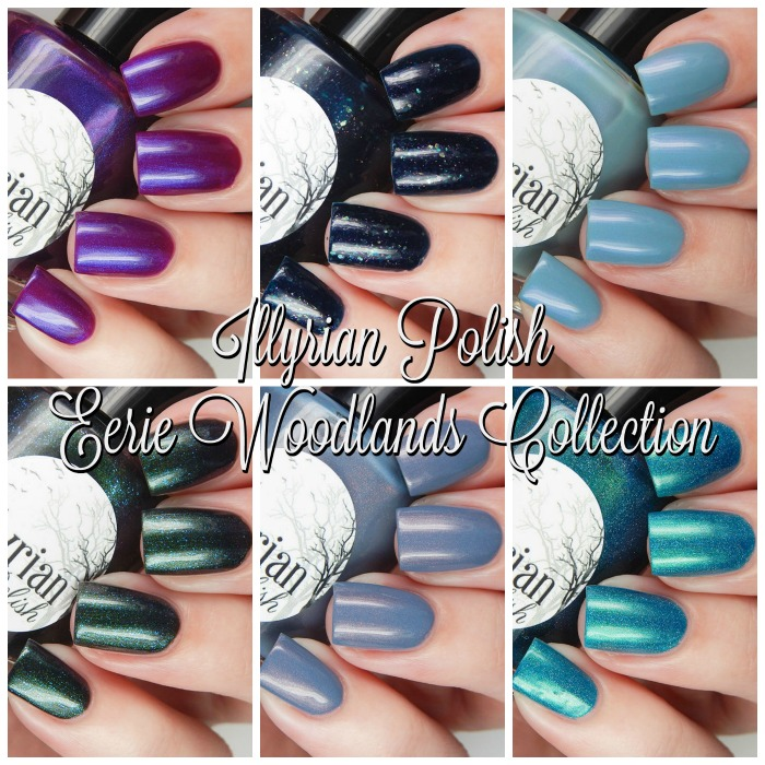 Illyrian Polish Eerie Woodlands Collection Main