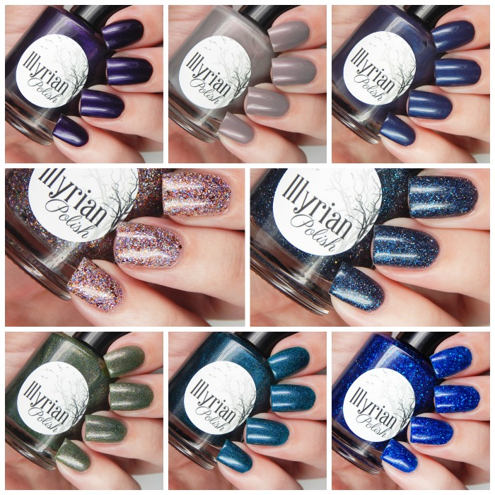 Illyrian Polish Winter Is Coming Collection Overview