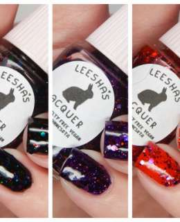 Leesha's Lacquers Jellies From Outer Space Collection Cover