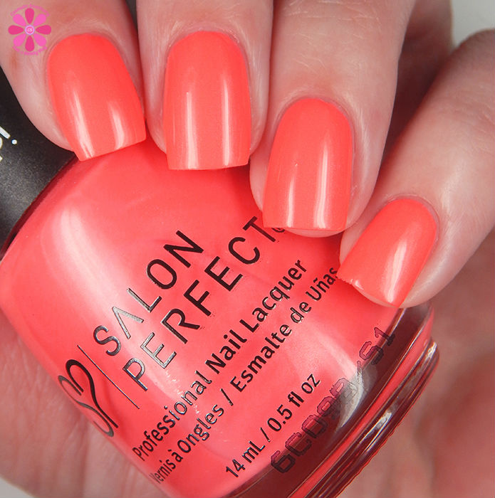 Salon Perfect Summer 2016 Neon POP! Collection Let's Not Coral