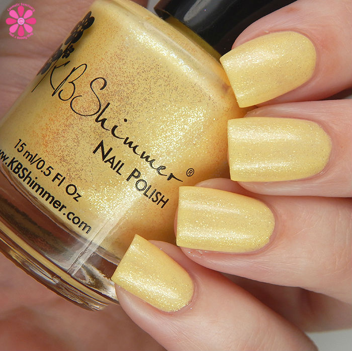 KBShimmer Summer 2016 Collection Mai Tai One On Swatch