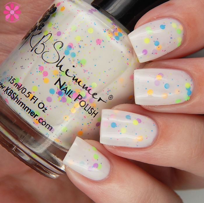 KBShimmer Summer 2016 Collection Neon Me Swatch