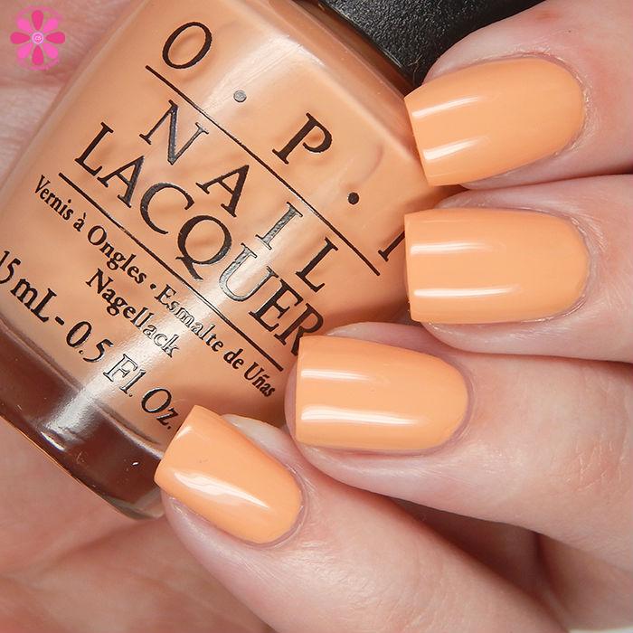 OPI Retro Summer 2016 Im Getting A Tangerine