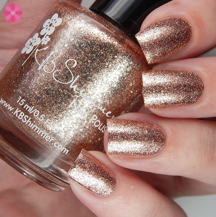 KBShimmer Summer 2016 Collection One Night Sand Swatch