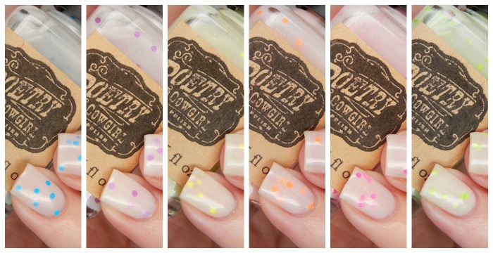 Poetry Cowgirl Nail Polish Fizzies Collection