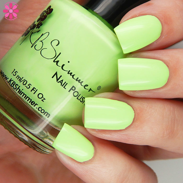 KBShimmer Summer 2016 Collection Ready For A Good Lime Swatch