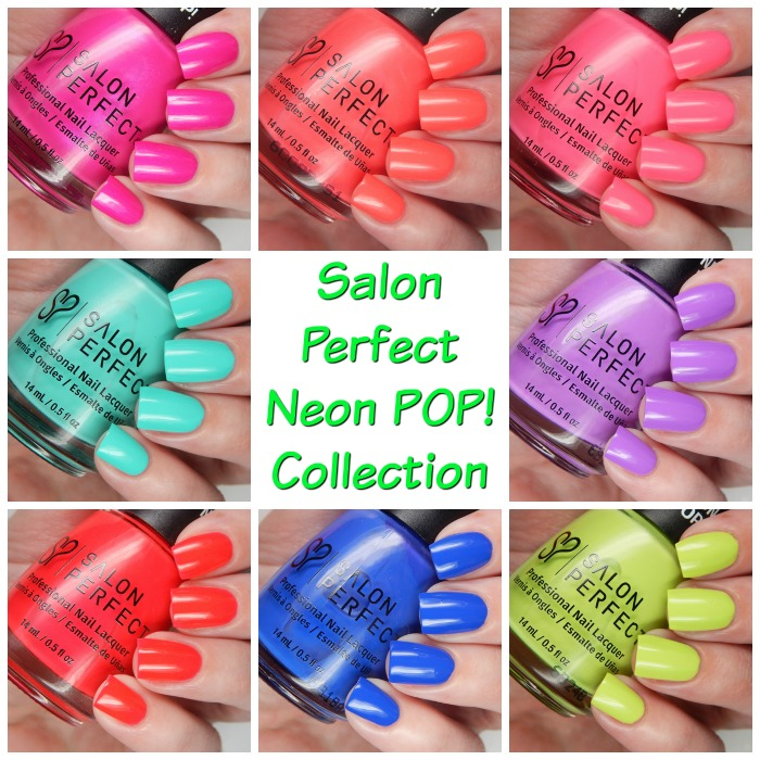 Salon Perfect Summer 2016 Neon POP! Collection