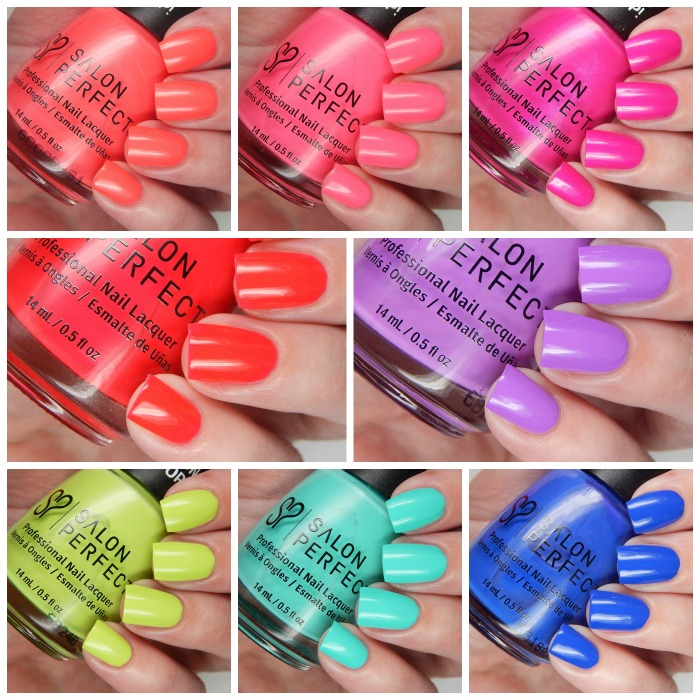 Salon Perfect Neon POP Collection Overview